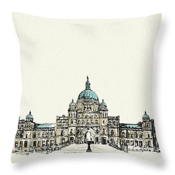Victoria Art 004 Throw Pillow by Catf