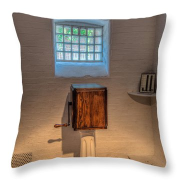 Victorian Punishment Throw Pillow by Adrian Evans