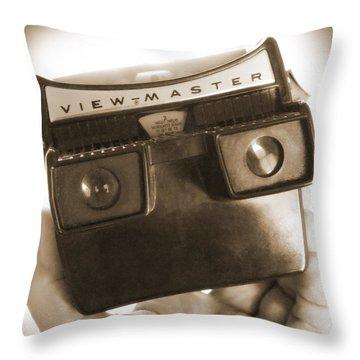 View - Master Throw Pillow by Mike McGlothlen