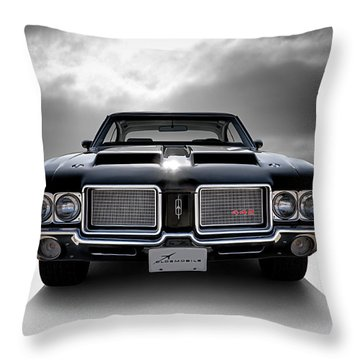 Vintage 442 Throw Pillow by Douglas Pittman