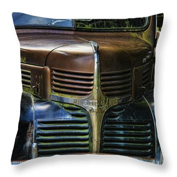 Vintage Dodge Throw Pillow by Mark Newman