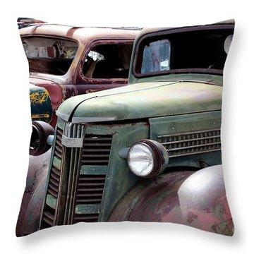 Vintage Throw Pillow by Fiona Kennard