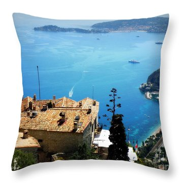 Vista From Eze Throw Pillow by Lainie Wrightson