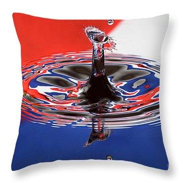 Viva Cuba Libre Throw Pillow by Susan Candelario