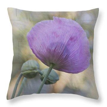 Vivian Throw Pillow by Elaine Teague