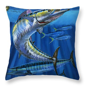 Wahoo Rip Off0047 Throw Pillow by Carey Chen
