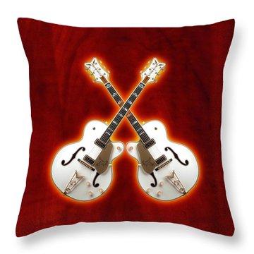 Waite Gretsch Throw Pillow by Doron Mafdoos