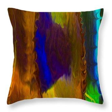 Wandering Eye Throw Pillow by Omaste Witkowski