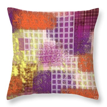Washi Papers 1 Throw Pillow by Delphimages Photo Creations