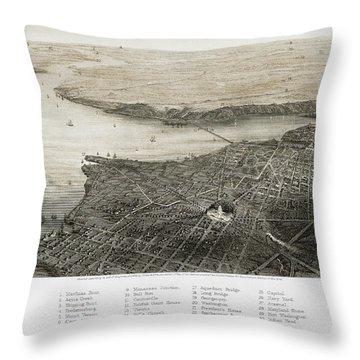 Washington, D.c., 1862 Throw Pillow by Granger