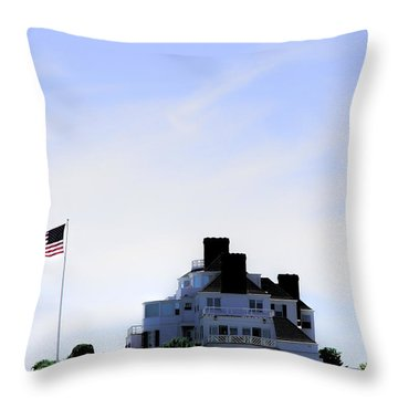 Watch Hill  Throw Pillow by Tom Prendergast