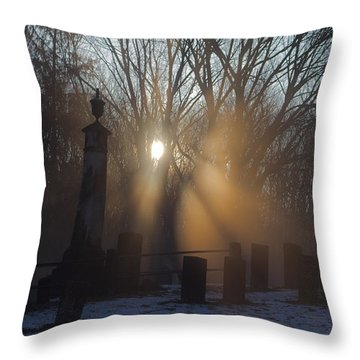 Watching Over Throw Pillow by Karol Livote