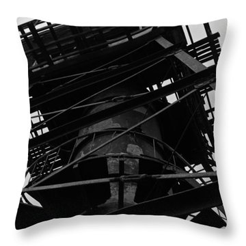 Watchtower Throw Pillow by Jennifer Ancker
