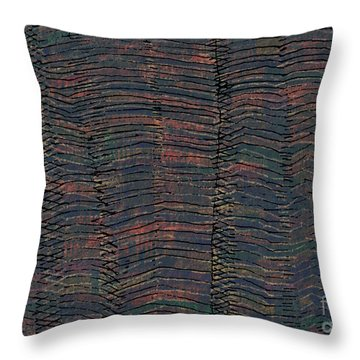 Waves Throw Pillow by Andy  Mercer