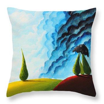 Weather Change Throw Pillow by Nirdesha Munasinghe