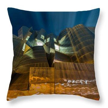 Weisman Art Museum Throw Pillow by Mark Goodman