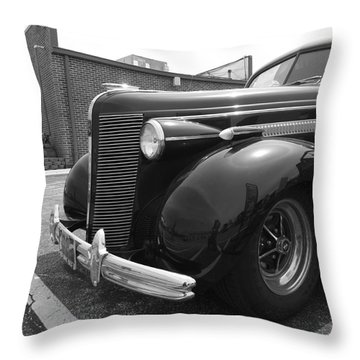 What A Beaut Throw Pillow by Sara  Raber