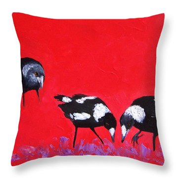 What About Me Throw Pillow by Jan Matson