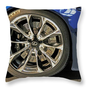 Wheel Of The Future Throw Pillow by Tom Gari Gallery-Three-Photography