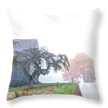 When You Take A Drive Throw Pillow by Richard Bean