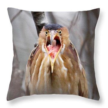 Whhhaattttttt Throw Pillow by Lloyd Alexander