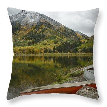Whitehouse Mountain Throw Pillow by Idaho Scenic Images Linda Lantzy