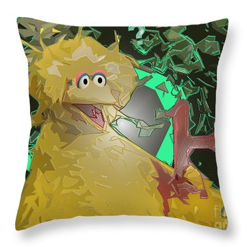 Who The Hell Is Next Throw Pillow by Feile Case