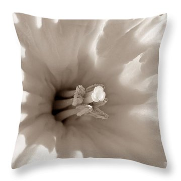 Wild Daffodil Throw Pillow by Chris Berry
