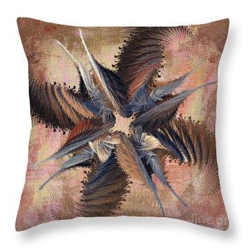 Winds Of Change Throw Pillow by Deborah Benoit