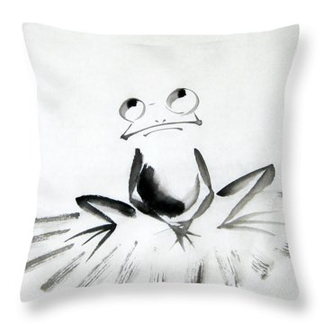 Wish Upon The Sky Throw Pillow by Oiyee At Oystudio