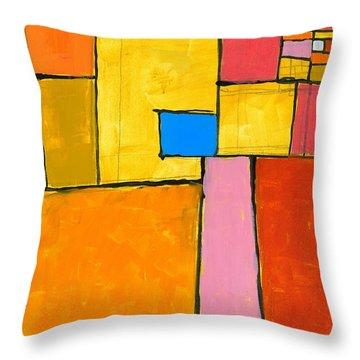 Wish You Were Here Throw Pillow by Douglas Simonson
