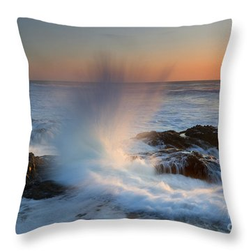 With Force Throw Pillow by Mike  Dawson