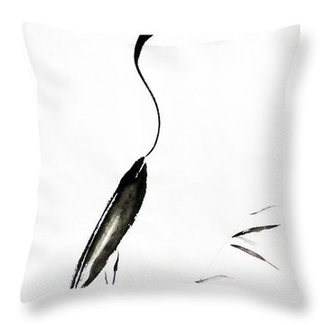 With My Head Held High Throw Pillow by Oiyee At Oystudio