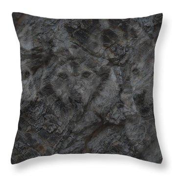 Wolf Shadows Throw Pillow by Ernie Echols
