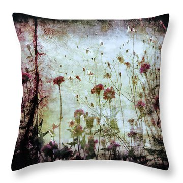 Wonderland Throw Pillow by Trish Mistric