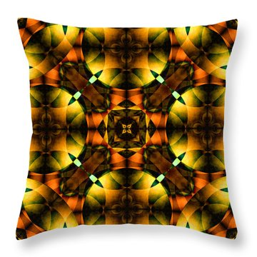 Worlds Collide 21 Throw Pillow by Mike McGlothlen