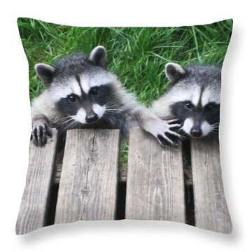 Would You Please Move Over Throw Pillow by Kym Backland