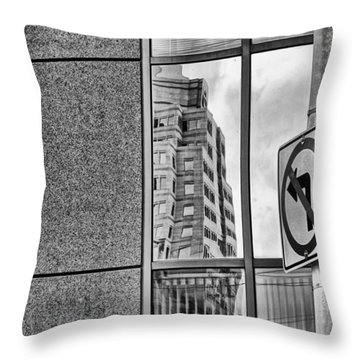 Wrong Way Throw Pillow by Dan Sproul