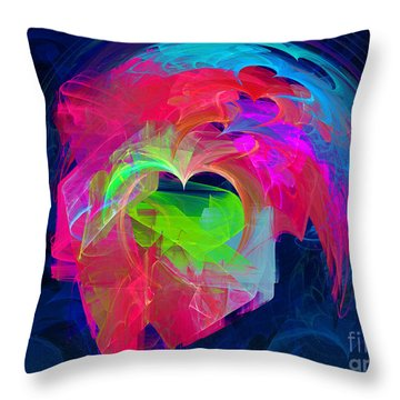 X Throw Pillow by English Landscapes