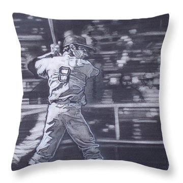 Yaz - Carl Yastrzemski Throw Pillow by Sean Connolly