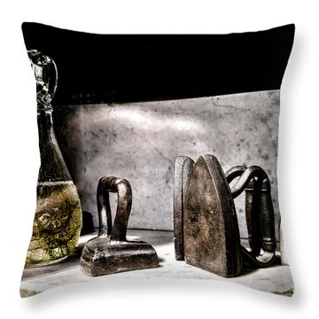 Years Ago Throw Pillow by Olivier Le Queinec