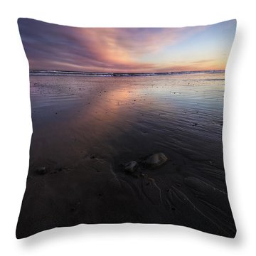 York Beach Throw Pillow by Eric Gendron