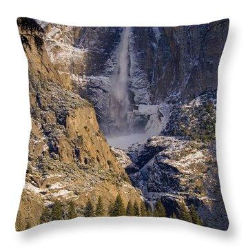 Yosemite's Splendor Throw Pillow by Bill Gallagher