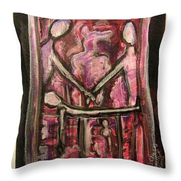 You Are Not Alone Throw Pillow by Mimulux patricia no