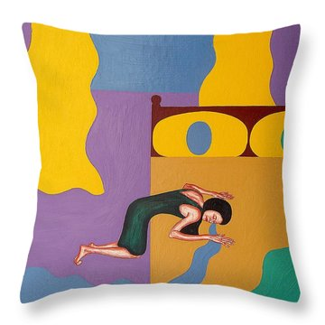 You Went Away Throw Pillow by Patrick J Murphy