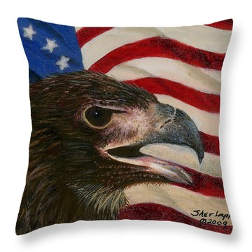 Young Americans Throw Pillow by Sherryl Lapping
