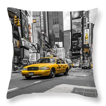 Your Ride - Ck  Throw Pillow by Hannes Cmarits