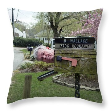 You've Got Male Throw Pillow by Brian Wallace