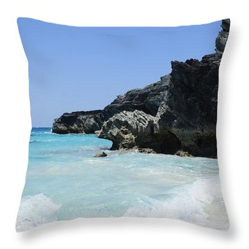 Zen Throw Pillow by Luke Moore