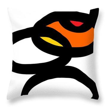 Zen Sunrise Throw Pillow by Linda Woods